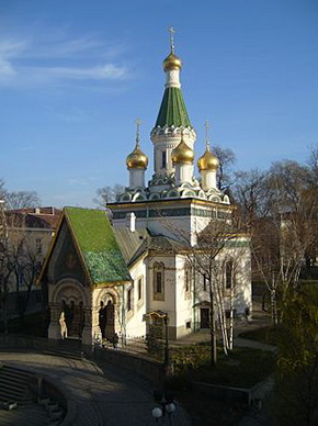 Russian_Church_Sofia_Bulgaria_Morning